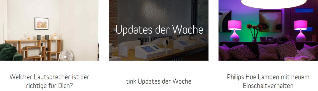 Tink Gutschein Blog