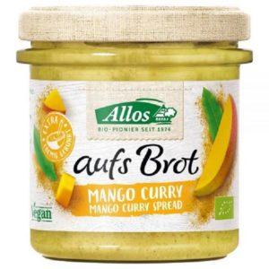 veganer aufstrich allos mango curry