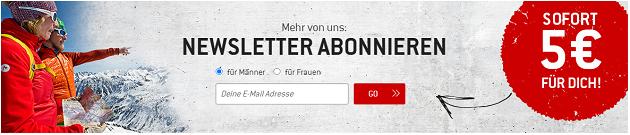 Bergfreunde Gutscheincode Newsletter