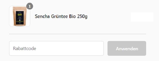 Biotiva Gutscheincode im Warenkorb eingeben