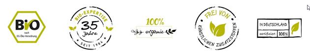 Biotiva Zertifikate