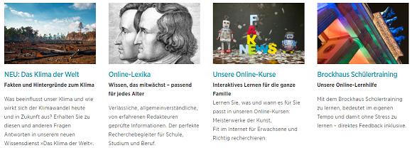Brockhaus Online Lexika und Kurse