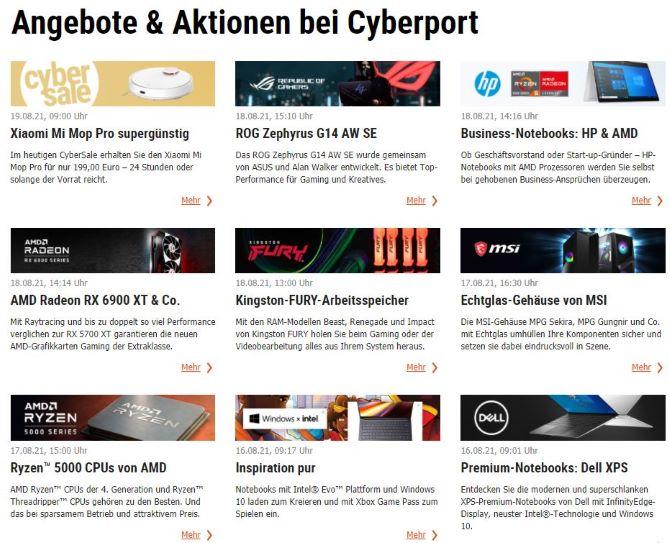 cyberport-gutschein-angebote-website