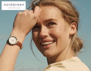 Dänische Uhren: Mit einem Nordgreen Gutschein sparen!