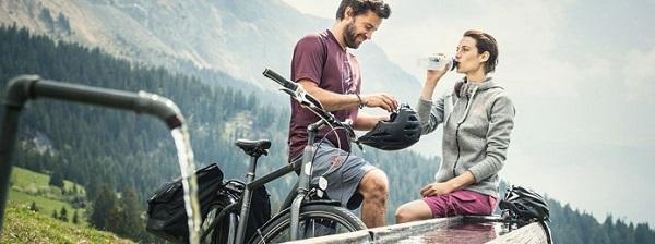 outdoor fahrrad mann frau