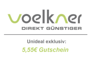 Exklusiv bei Unideal: 5,55€ Voelkner Gutschein!