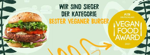 Greenforce bester veganer Burger