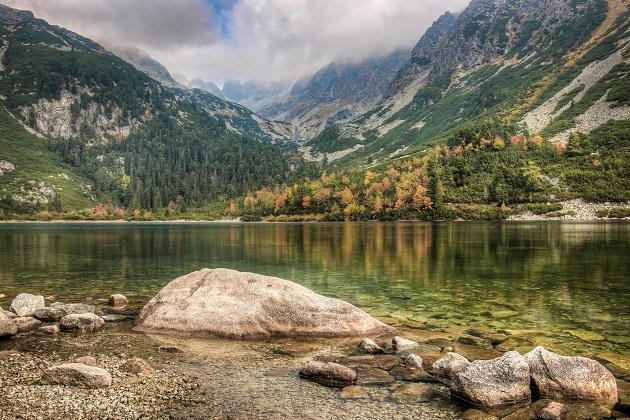 Hohe Tatra in der Slowakei und Polen