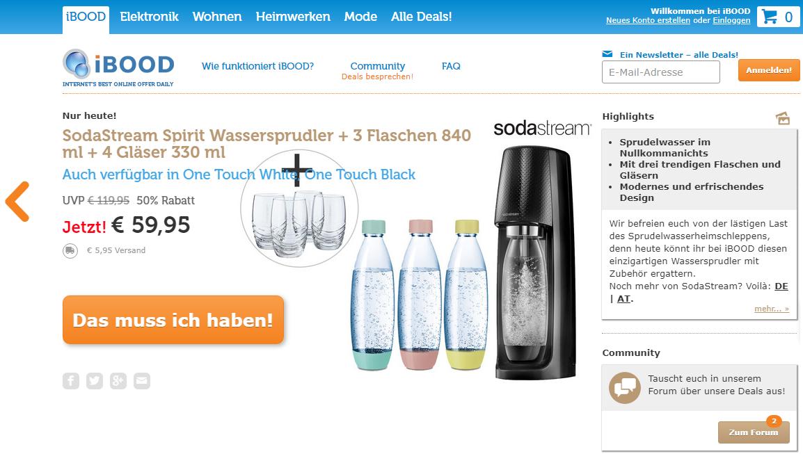 iBOOD Gutschein Online Shop
