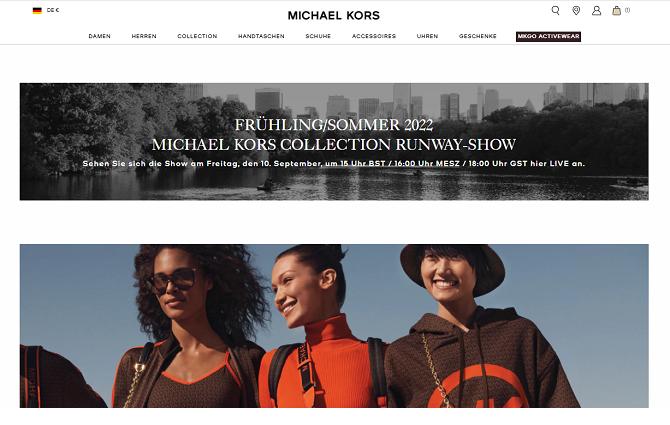 michael kors gutschein website