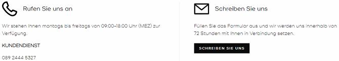 michael kors website kundensupport