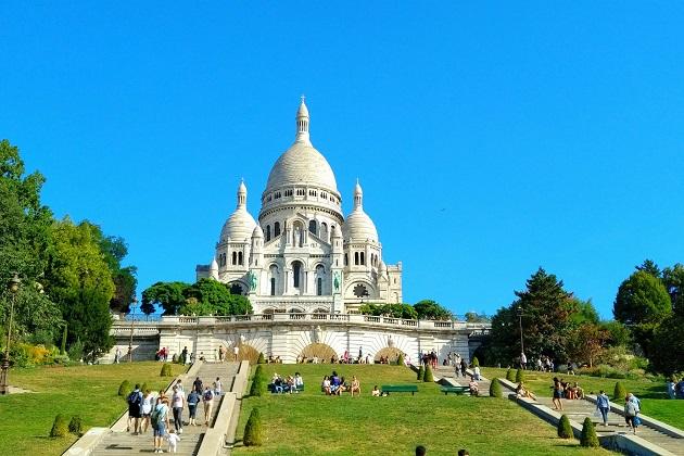 Montmatre ist das Künstlerviertel von Paris