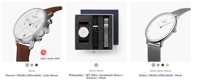 faire Uhren besten nachhaltigen Geschenkideen