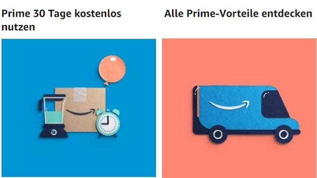 Kostenloser Amazon Prime Probemitgliedschaft