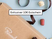 Exklusiv: 10€ Rausch Gutschein – Glückshormone für zu Hause