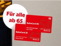 Senioren BahnCard – alle Ü65 fahren jetzt bis zu 50% günstiger mit der DB