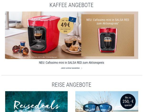 Tchibo Gutschein Sales