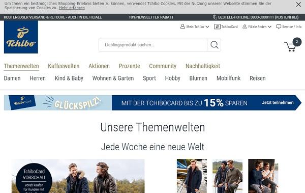 Tchibo Gutschein Shop
