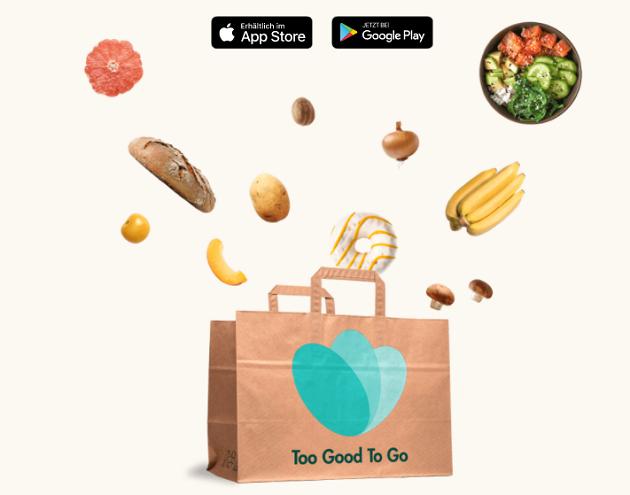 too good too go - gegen Lebensmittelverschwendung
