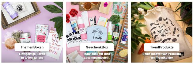 nachhaltige Geschenkbox