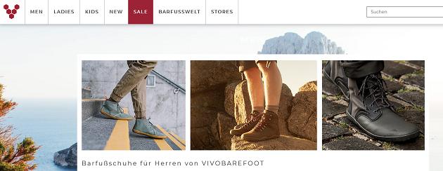 Barfußschuhe von vivobarefoot