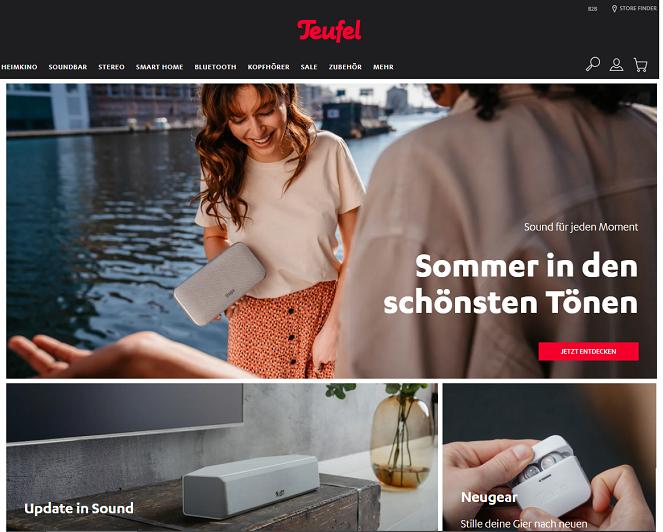 website teufel gutschein