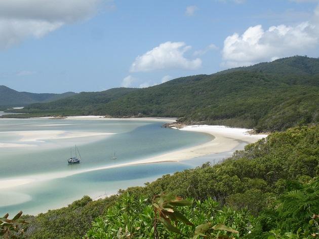 Die australischen WEhitsunday Inslands
