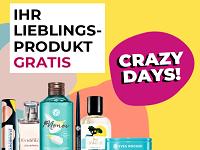 Yves Rocher Crazy Days: 1. Artikel im Warenkorb geschenkt